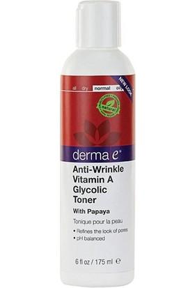 Derma E Anti-Wrinkle Vitamin A Glycolic Toner 175M