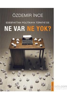 Edebiyattan Politikaya Türkiye'De Ne Var Ne Yok?-Özdemir İnce