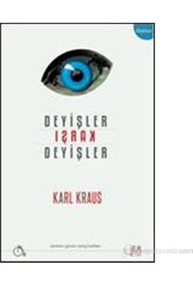 Deyişler Karşı Deyişler-Karl Kraus