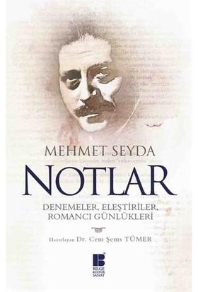Notlar: Denemeler, Eleştiriler, Romancı Günlükleri-Mehmet Seyda