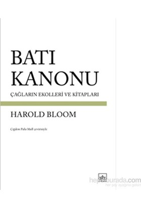 Batı Kanonu-Harold Bloom