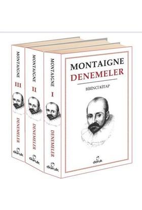 Denemeler - 3 Cilt Tam metin - Michel de Montaigne