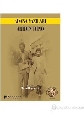 Adana Yazıları-Abidin Dino