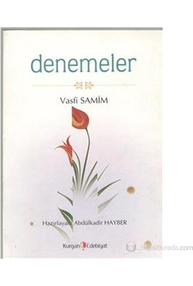 Denemeler-Vasfi Samim