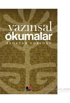 Yazınsal Okumalar-Ramazan Korkmaz