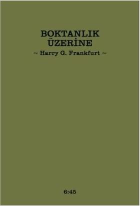 Boktanlık Üzerine-Harry G. Frankfurt
