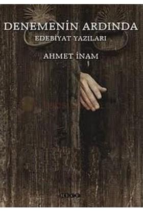 Denemenin Ardında Edebiyat Yazıları-Ahmet İnam