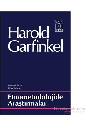 Etnometodolojide Araştırmalar-Harold Garfinkel