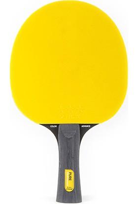 Stiga 1599-01 Pure ITTF Onaylı Masa Tenisi Raketi Sarı