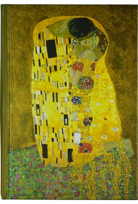 Art Of World / Klimt 14*20 96 Sayfa Sert Kapak 70 Gr. Enzo Lux Çizgili Defter