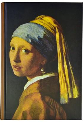 Art Of World / Wermeer 14*20 96 Sayfa Sert Kapak 70 Gr. Enzo Lux Çizgili Defter