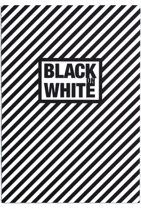Black On Write Defter / Line 16,5*23,5 20 Sayfa Terzi Dikişli 100 Gr. Siyah Çizgisiz