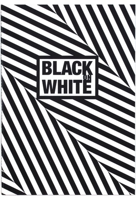 Black On Write Defter / Bias 16,5*23,5 20 Sayfa Terzi Dikişli 100 Gr. Siyah Çizgisiz