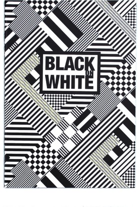 Black On Write Defter / Electric 16,5*23,5 20 Sayfa Terzi Dikişli 100 Gr. Siyah Çizgisiz