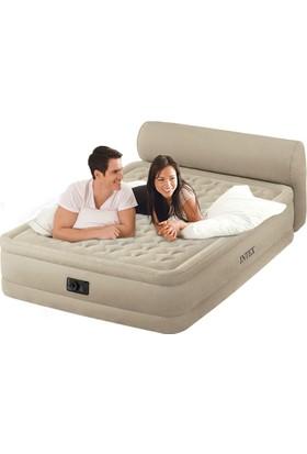 Intex Üç Katlı Elektrikli Başlıklı Yatak Çift Kişilik - 64460