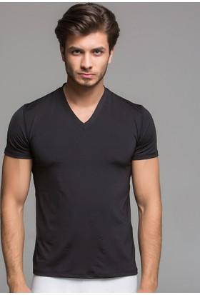 Thermoform Microfiber V Yaka T-Shirt