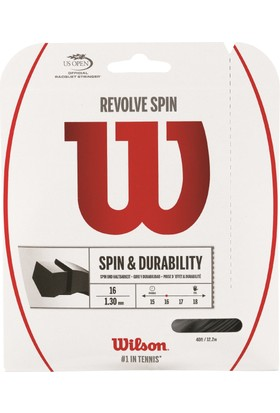 Wilson Kordaj Revolve Spın 16 Set Siyah (Wrz957000)