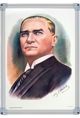 İnter 35x50 Atatürk Portresi Alüminyum Çerçeveli INT-824-4