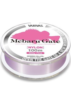 Varıvas Mebaru Gate Nylon 4,0Lb 0,165Mm 100Mt