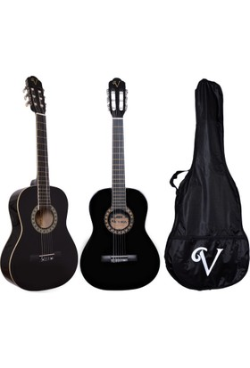 Victoria Klasik Gitar Seti Kılıf ve Pena Hediyeli 3/4 CG160BK