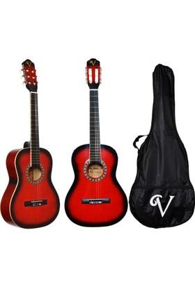 Victoria Klasik Gitar Seti Kılıf ve Pena Hediyeli 3/4 CG160RB