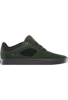 Emerica The Hsu Low Vulc Green Black Erkek Ayakkabı