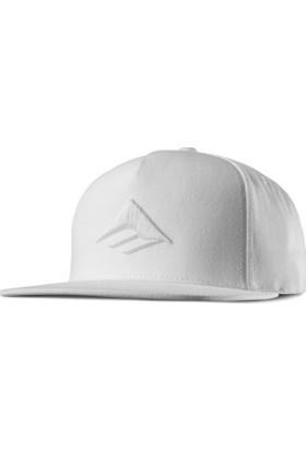 Emerica Triangle Snapback Cap White Şapka
