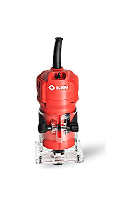 Ken 3906NB Formika Traşlama El Frezesi 400 Watt