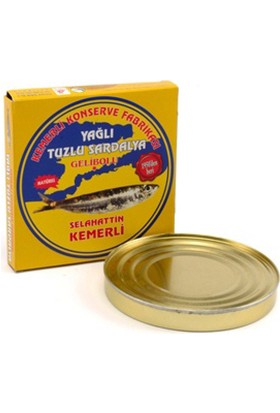 Selahattin Kemerli Yağlı Tuzlu Sardalya 300 gr
