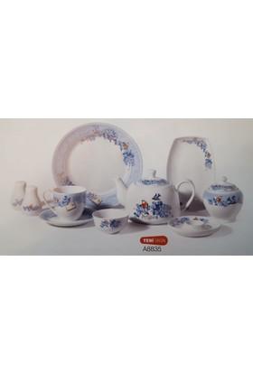 Korkmaz A8835 36 Parça Porselen Kahvaltı Seti