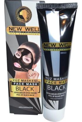 New Well Soyulabilir Siyah Maske 100 Ml