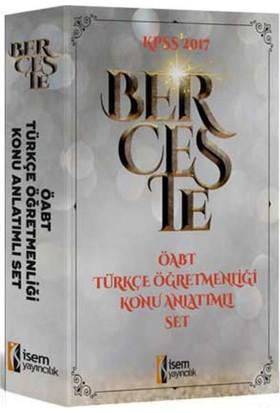 2017 ÖABT Berceste Türkçe Öğretmenliği Konu Anlatımlı Modüler Set 3 Kitap