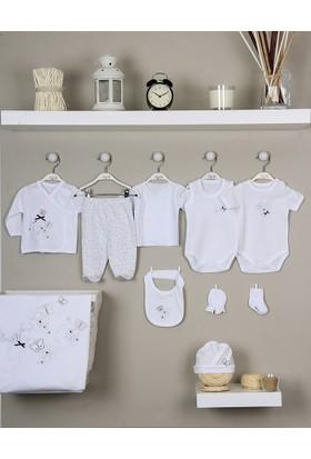 İmaj 153 Simli Çiçekli Kız Bebek 10'lu Bebek Hastane Seti