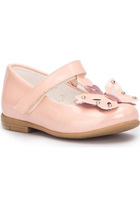Pink Step Butterfly Açık Pembe Kız Çocuk Babet