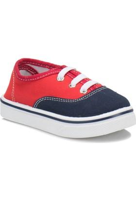 I Cool Gomez Lacivert Kırmızı Erkek Çocuk Sneaker Ayakkabı