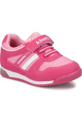Kinetix Femand Fuşya Pembe Beyaz Kız Çocuk Sneaker Ayakkabı