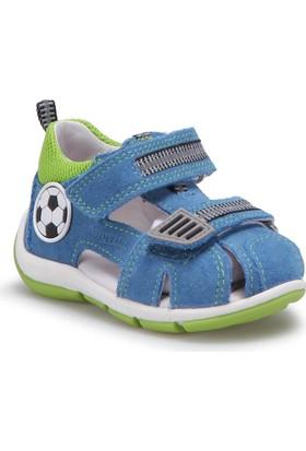 Superfit 00139-95 Be Mavi Erkek Çocuk Deri Sandalet
