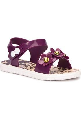 Polaris 71.509257.P Mor Kız Çocuk Basic Sandalet
