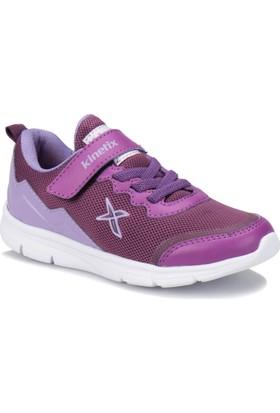 Kinetix Alpin Koyu Mor Lila Kız Çocuk Sneaker Ayakkabı