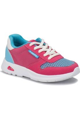 Kinetix Rapid Koyu Fuşya Açık Mavi Kız Çocuk Sneaker Ayakkabı
