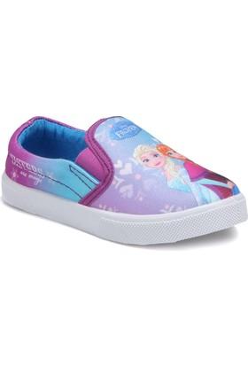 Frozen 72951T Mor Kız Çocuk Sneaker Ayakkabı
