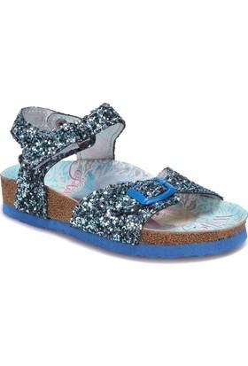 Frozen 90422T Mavi Kız Çocuk Sandalet