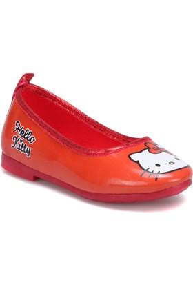 Hello Kitty 73026T Kırmızı Kız Çocuk Babet