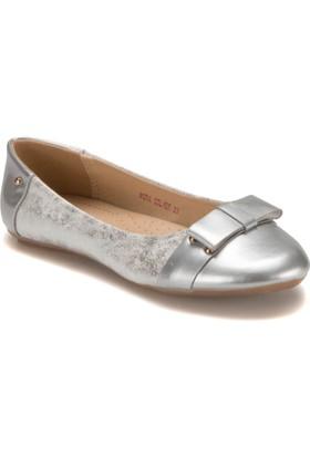 Pink Step Mira Gümüş Kız Çocuk Babet