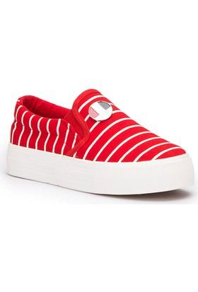 U.S. Polo Assn. Mocking Kırmızı Kız Çocuk Sneaker Ayakkabı