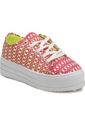 Seventeen Mara Sarı Kız Çocuk Sneaker Ayakkabı