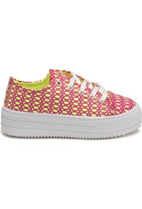 Seventeen Gsva100 Fuşya Kız Çocuk Sneaker Ayakkabı