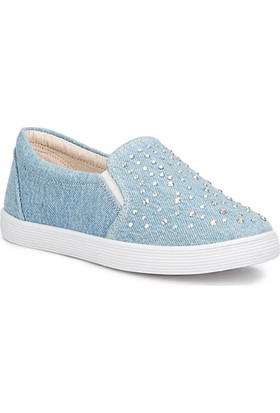 Polaris 71.509328.F Mavi Kız Çocuk 337 Ayakkabı