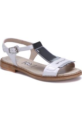 Seventeen 60792 Gümüş Kız Çocuk Sandalet