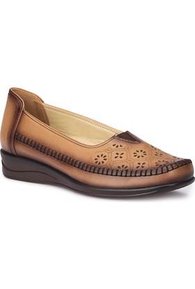 Polaris 5 Nokta 71.109612.Z Vizon Kadın Ayakkabı